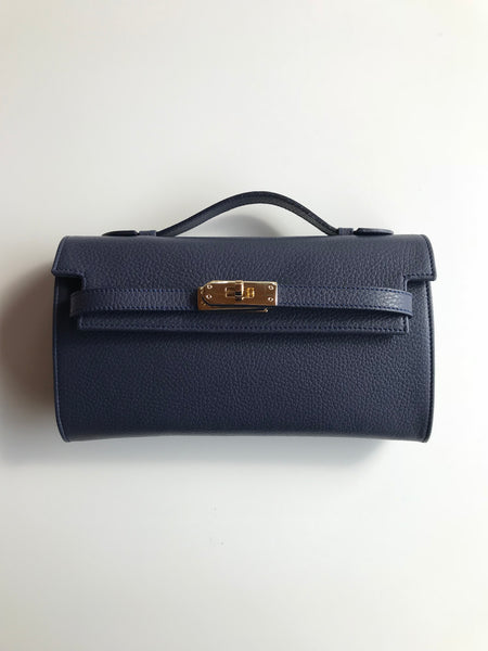 Bolso Star Small Piel Navy
