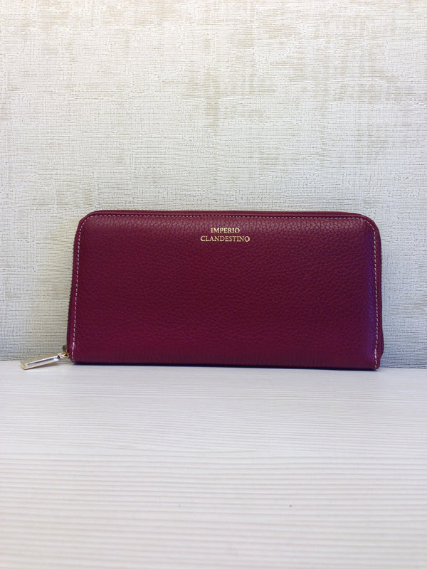 Cartera Kate Piel Wine