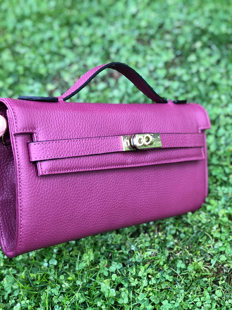 Bolso Star Big Piel Wine