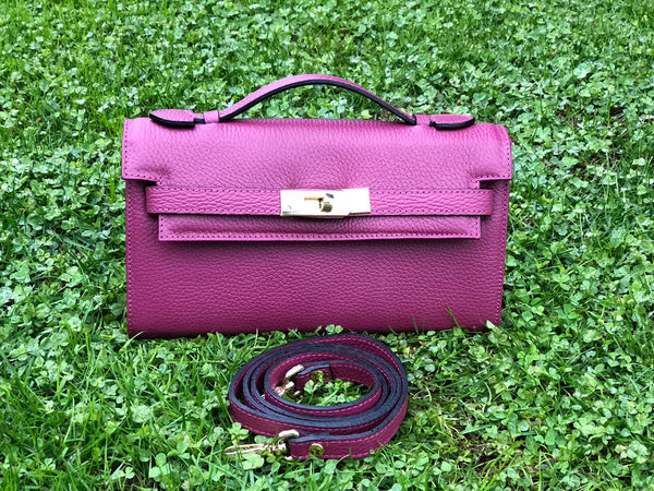 Bolso Star Small Piel Wine