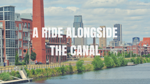 A ride alongside the Canal