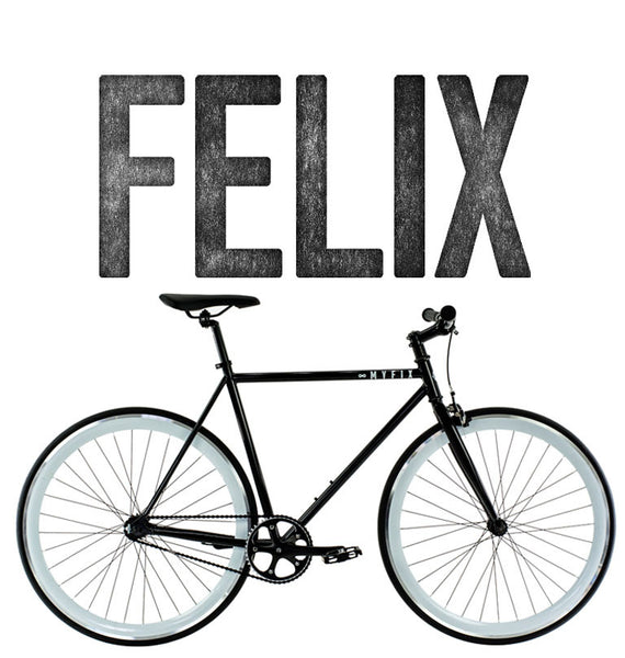 Fixie bicycle Image of Felix 1