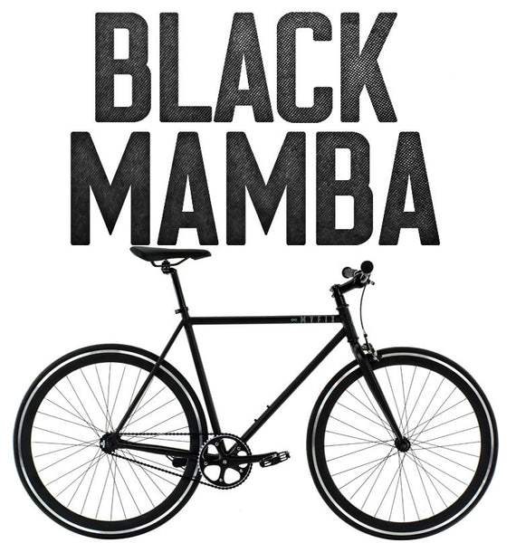 Fixie bicycle Image of Black Mamba