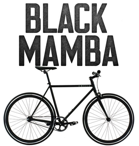 Fixie Bike | Black Mamba