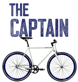 Fixie bicycle Image of The Captain