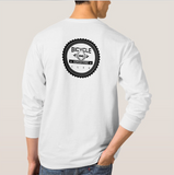 bike apparel white long sleeve