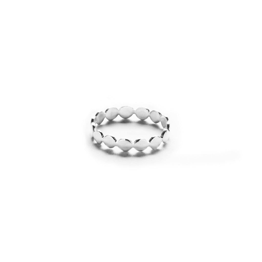 Bubbling Band Ring - BE.ARUM  - 1