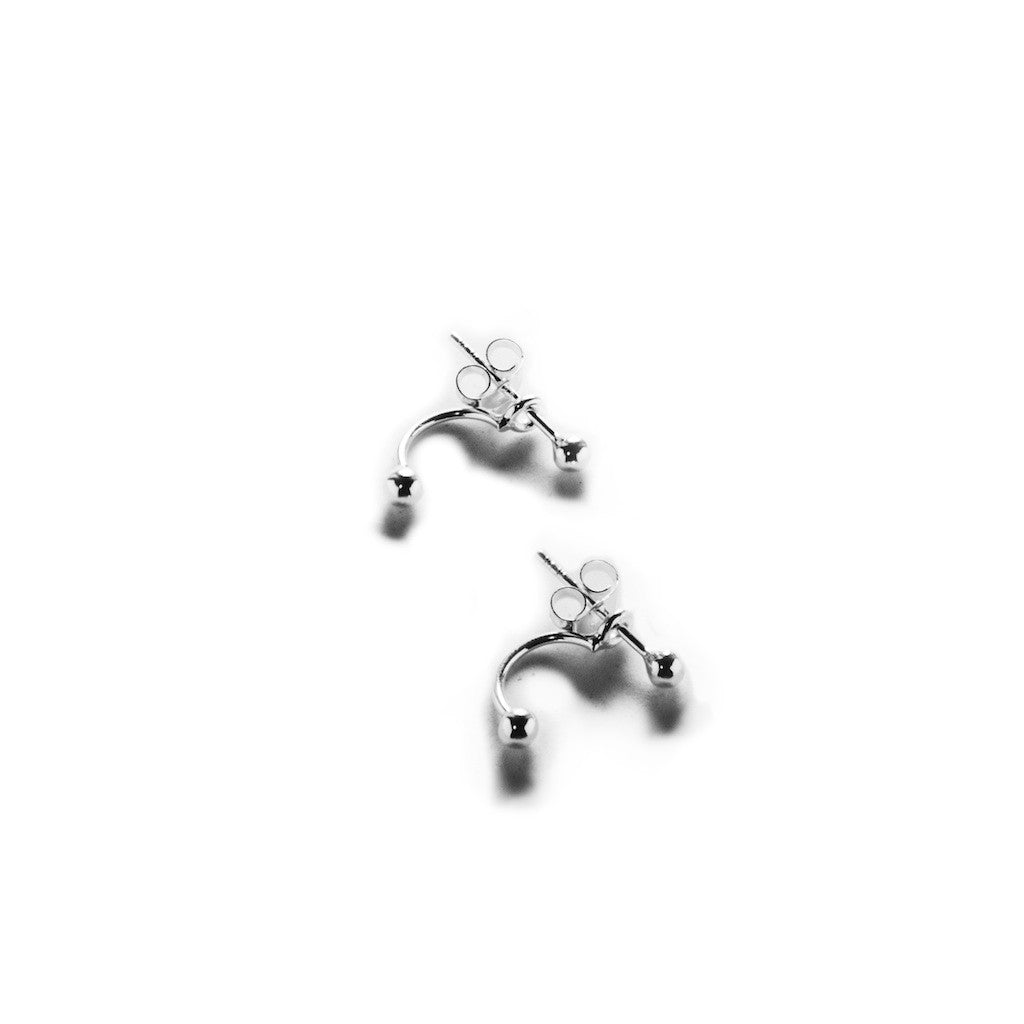 Top and Bottom Point Earrings - BE.ARUM  - 1