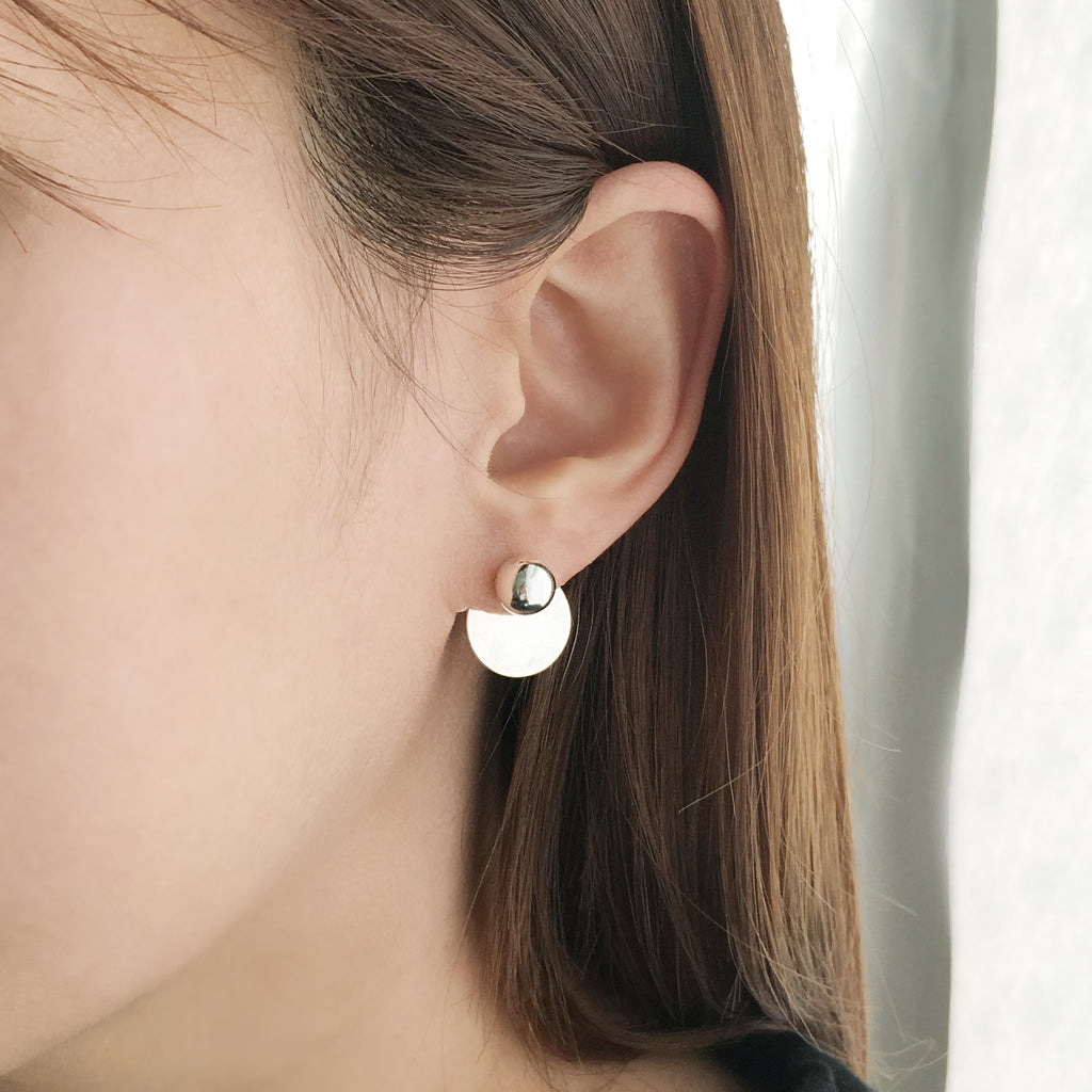 Modern Disco Two Way Earring
