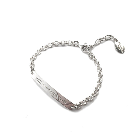 Thank you for being born Bracelet - Children's  (Free Engraving-Back Side) - BE.ARUM  - 1