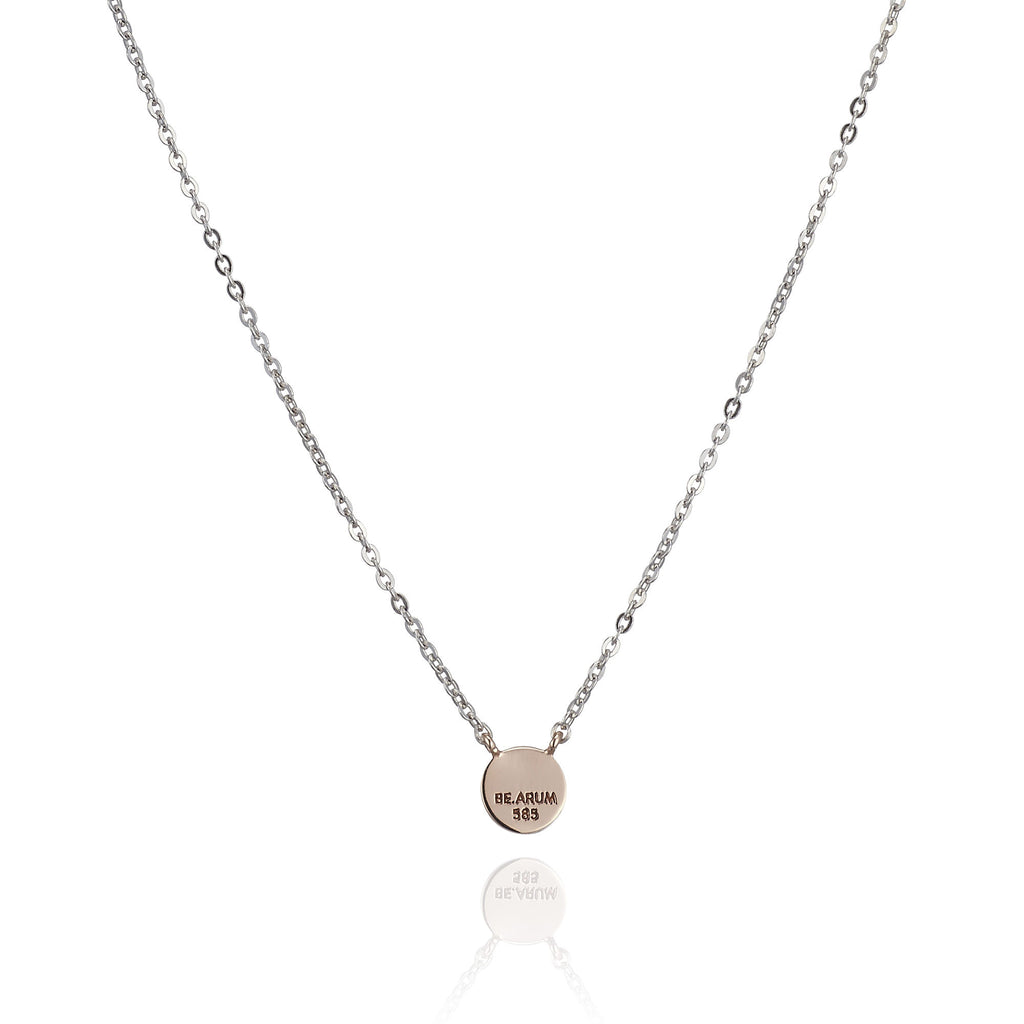 You are beautiful Necklace 14K Rose Gold - BE.ARUM  - 2