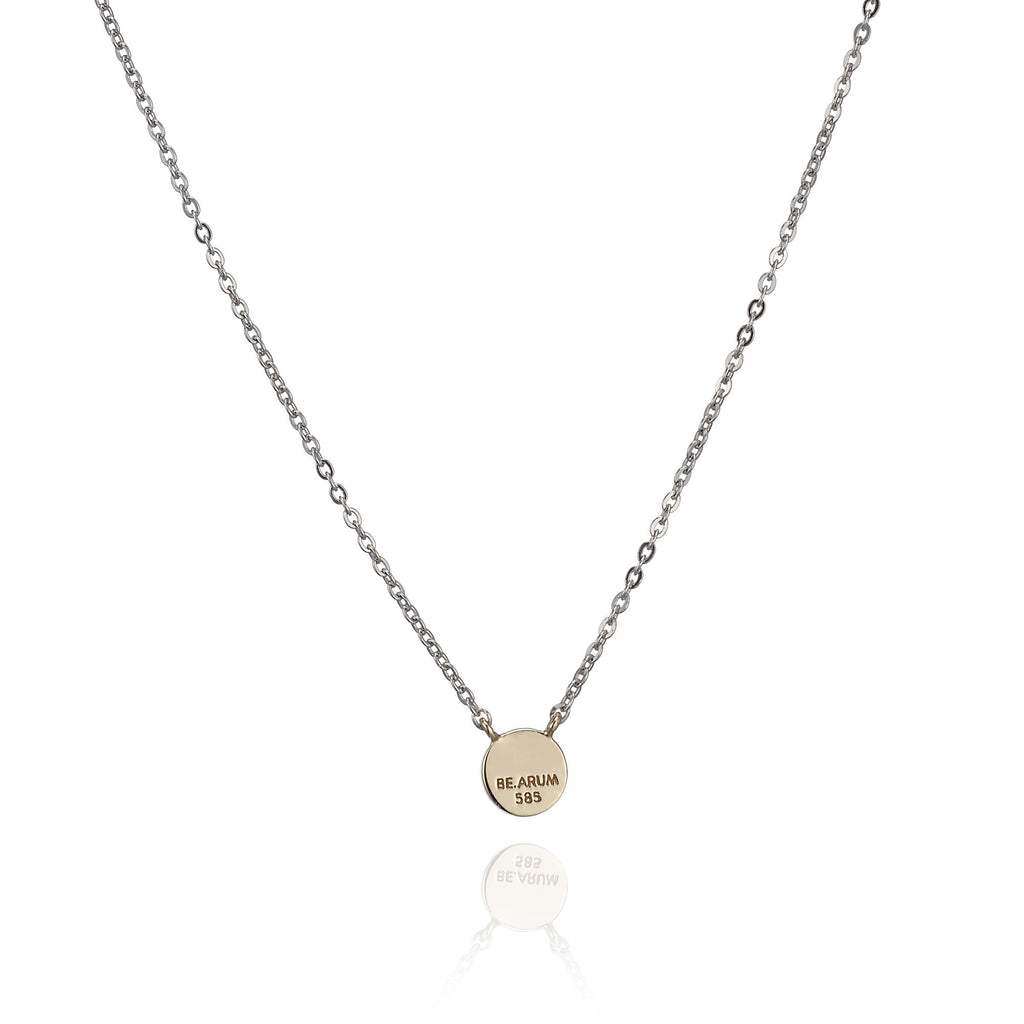 You are beautiful Necklace 14K Gold - BE.ARUM  - 2
