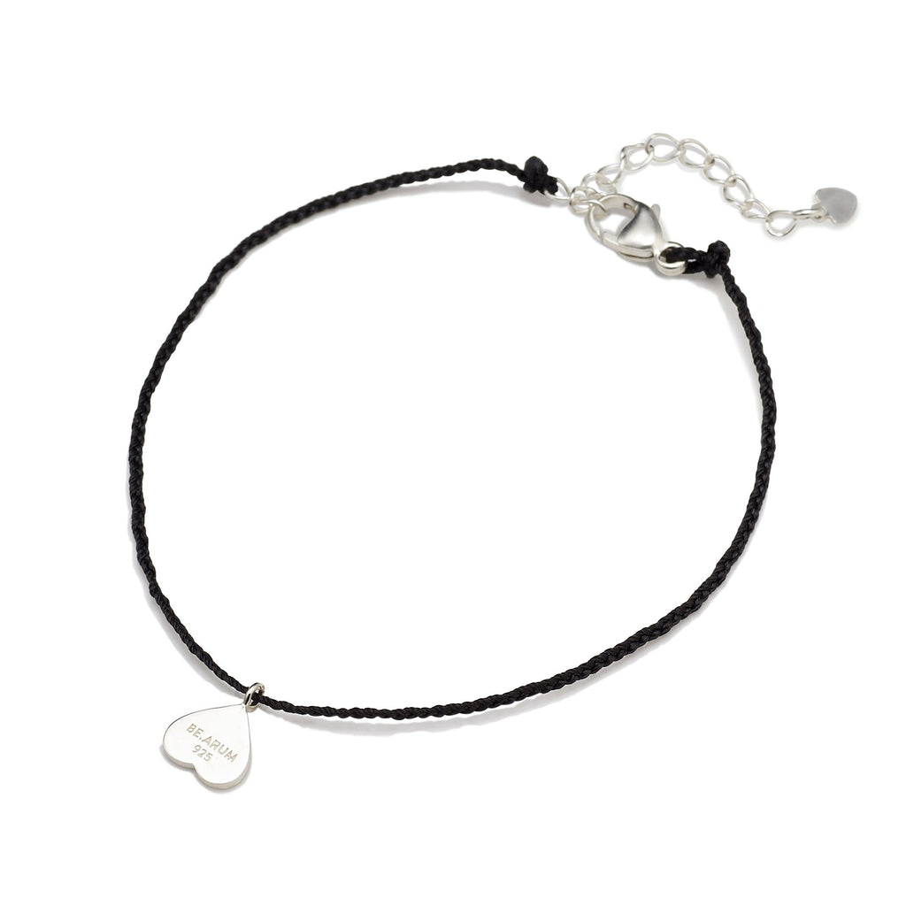 You are lovely Friendship Bracelet Black - BE.ARUM  - 2