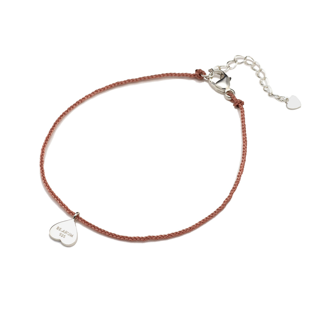 You are lovely Friendship Bracelet Rusty Pink - BE.ARUM  - 2