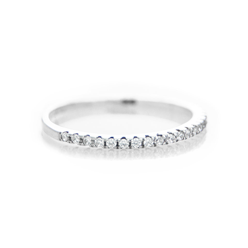 Pave Ring (White Stones) - BE.ARUM  - 2