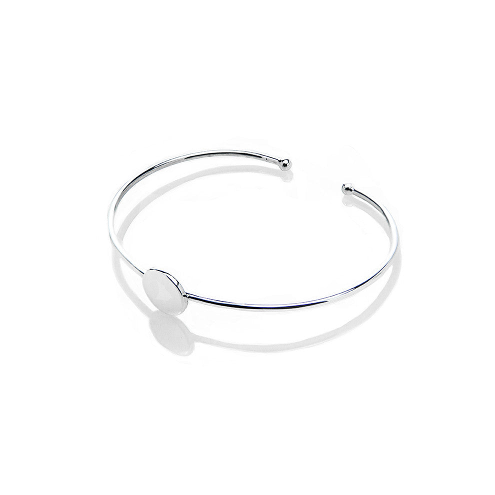 Circle Bangle (Free Engraving) - BE.ARUM  - 1