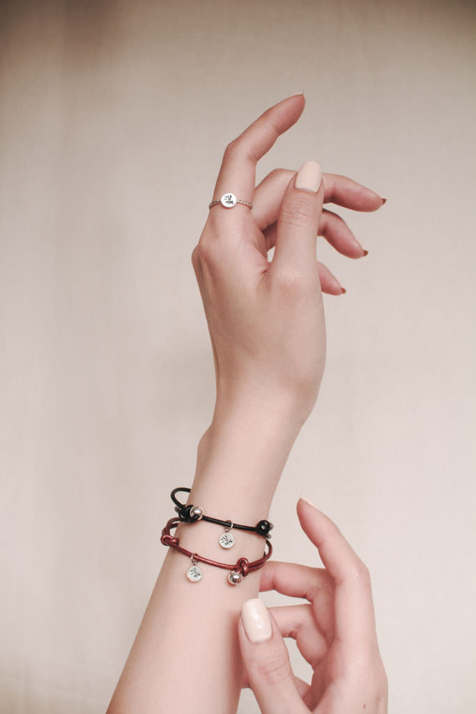 Simply pretty Bracelet Charming Black - BE.ARUM  - 4