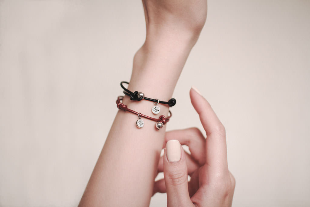 Simply pretty Bracelet Charming Black - BE.ARUM  - 5