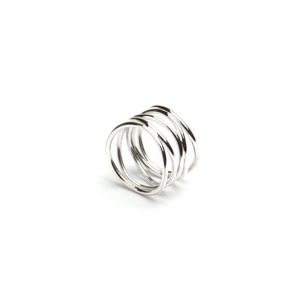 Layered Ripple Ring