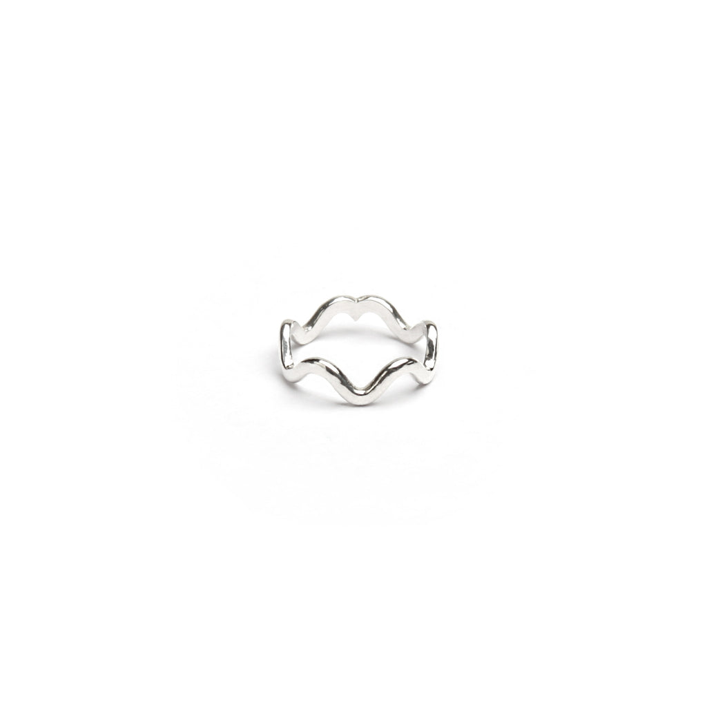 Big Wave Ring (Pinky)