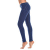 FREDDY WR.UP  CONTRAST STITCH SKINNY - Royal - LIVIFY  - 3