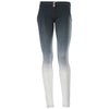 FREDDY WR.UP  2 TONE PANT - Black/White - LIVIFY  - 2