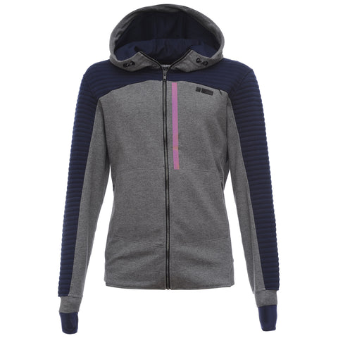 Freddy Mens Zip-Up Hoodie - Heather