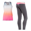 FREDDY SUPERFIT D.I.W.O ANKLE LENGTH SPORT PANT + TANK - Rainbow
