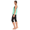 Freddy WRUP® Sport Capri + Top + Tank Set - Mint/Black