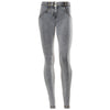 FREDDY WR.UP REGULAR RISE DENIM EFFECT SKINNY - Grey