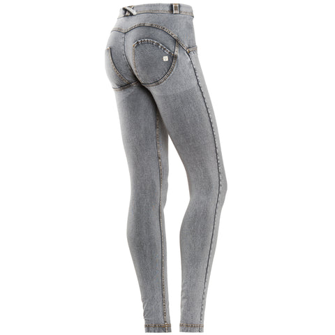 Freddy WR.UP® Mid Rise Denim Skinny - Grey