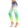 FREDDY WR.UP 7/8 ANKLE OMBRE PRINT PANT - Green