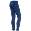 Freddy WR.UP® Piping Pant Zip Ankle Length - Blue