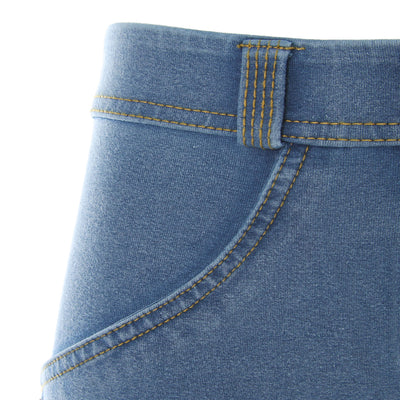 Freddy WR.UP® Denim Low Rise Skinny - Medium Rinse + Yellow Stitching