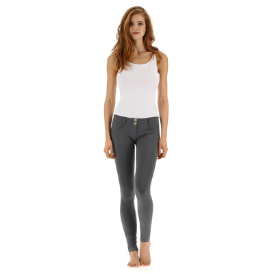 Freddy WR.UP® Low Rise Skinny - Dark Grey