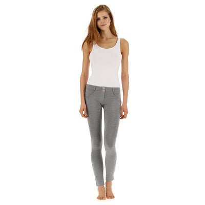 Freddy WR.UP® Low Rise Skinny - Heather