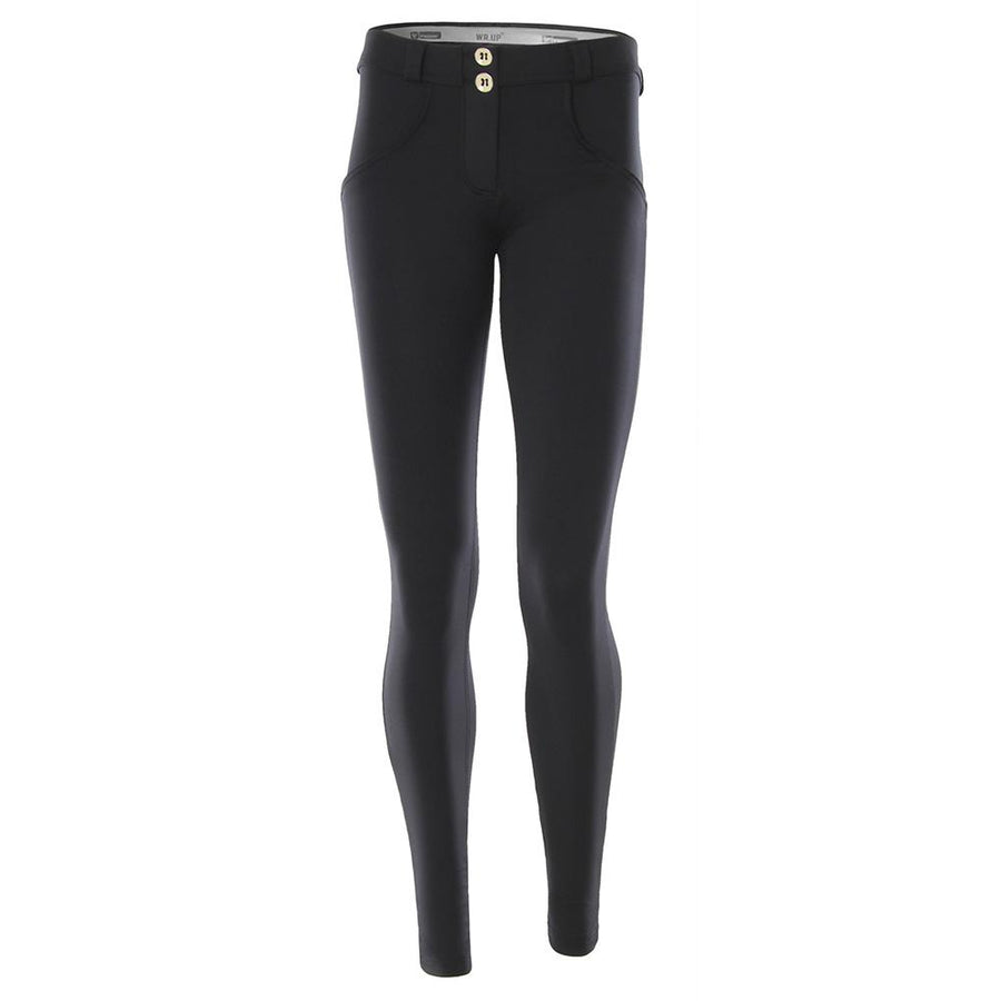 Freddy WR.UP® D.I.W.O.® Fabric Satin Finish Regular Rise Skinny - Black