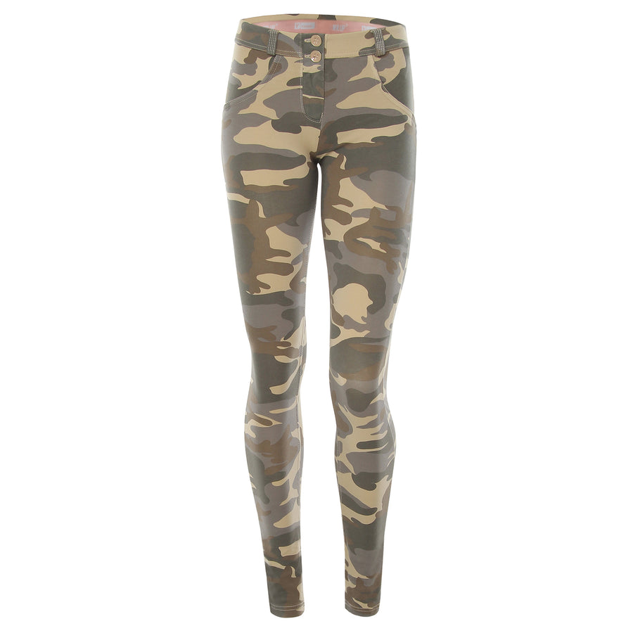 Freddy WR.UP® Regular Rise Skinny - Light Camo