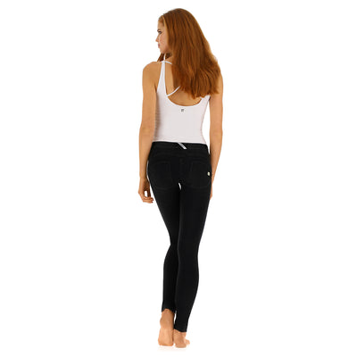 Freddy WR.UP® Denim Regular Rise Skinny - Black Rinse