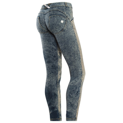 Freddy WR.UP® Light Dirty Denim Low Rise Skinny - Dark Rinse