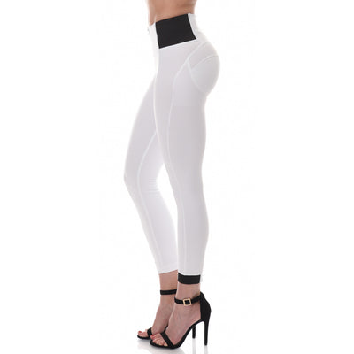 Freddy WR.UP® D.I.W.O.'® PRO Fabric High Rise Skinny - White