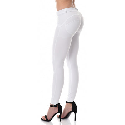 Freddy WR.UP® D.I.W.O.® PRO Fabric Regular Rise Skinny - White