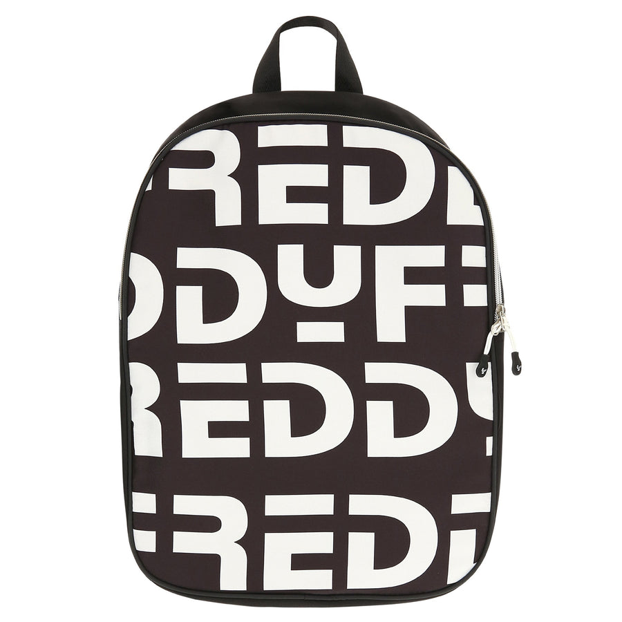 Freddy all over print logo Bagpack-Black