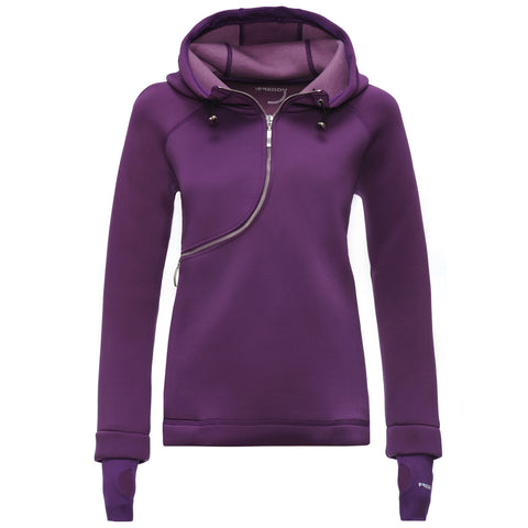 FREDDY D.I.W.O CURVE BREATHABLE SWEATSHIRT - Purple