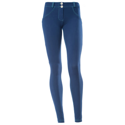 Freddy WR.UP® Contrast Stitch Skinny - Royal