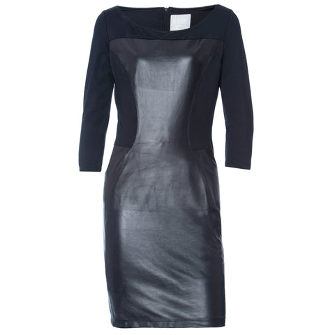 FREDDY WR.UP DRESS Leather Effect - Black