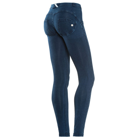 FREDDY WR.UP REGULAR RISE DENIM EFFECT SKINNY - Blue Tonal