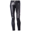 FREDDY WR.UP MOTORCYCLE ECO LEATHER EFFECT  - Black