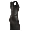 FREDDY WR.UP ECO LEATHER DRESS - Black