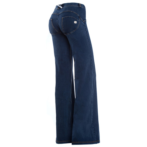 Freddy WR.UP® Wide Flare - Dark Rinse